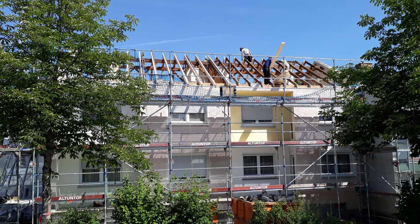 WBDill - Modernisierung des Objekts in der Rolfestraße 24-26