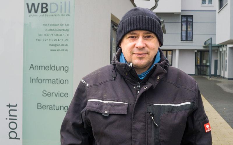 Alex Naumann - Technik und Service bei der WBDill