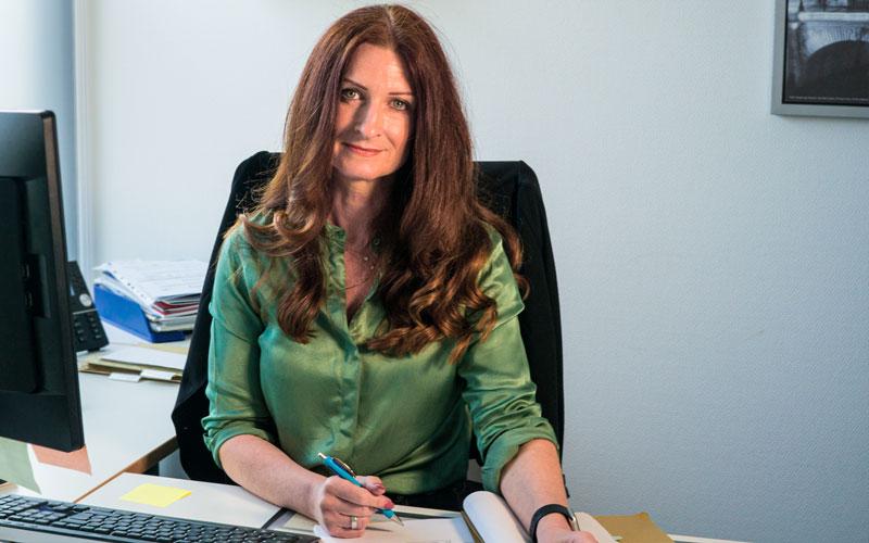 Ivonne Orth - Vermietung und Mitgliederservice bei der WBDill