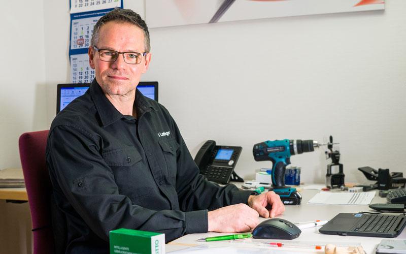 Jörg Lanzinger - Technik und Service bei der WBDill