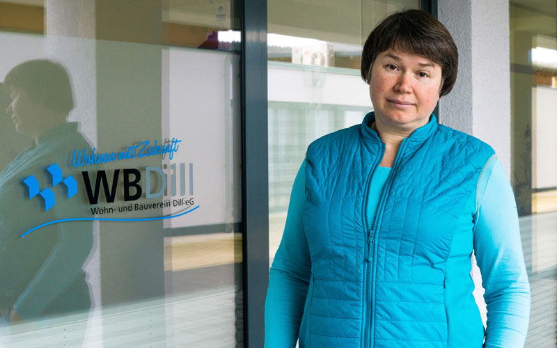 Mariya Kalinina - Technik und Service bei der WBDill