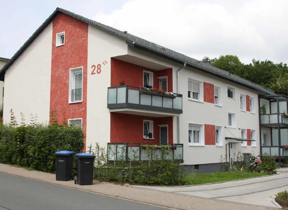 WBDill - Modernisierung des Objekts in der Rolfestraße 28
