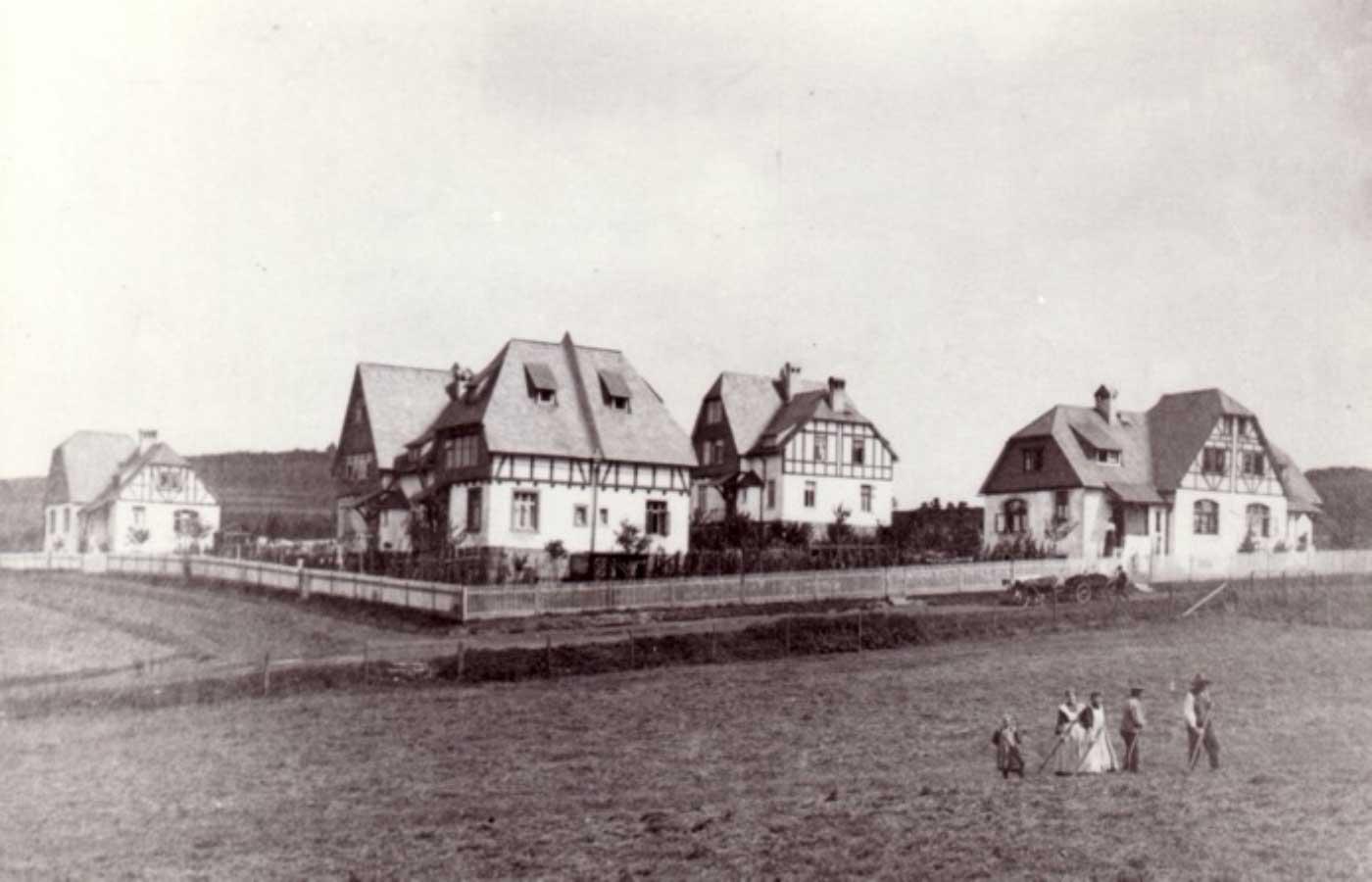 Erwerbshäuser in Alsbach 1905 – WBDill